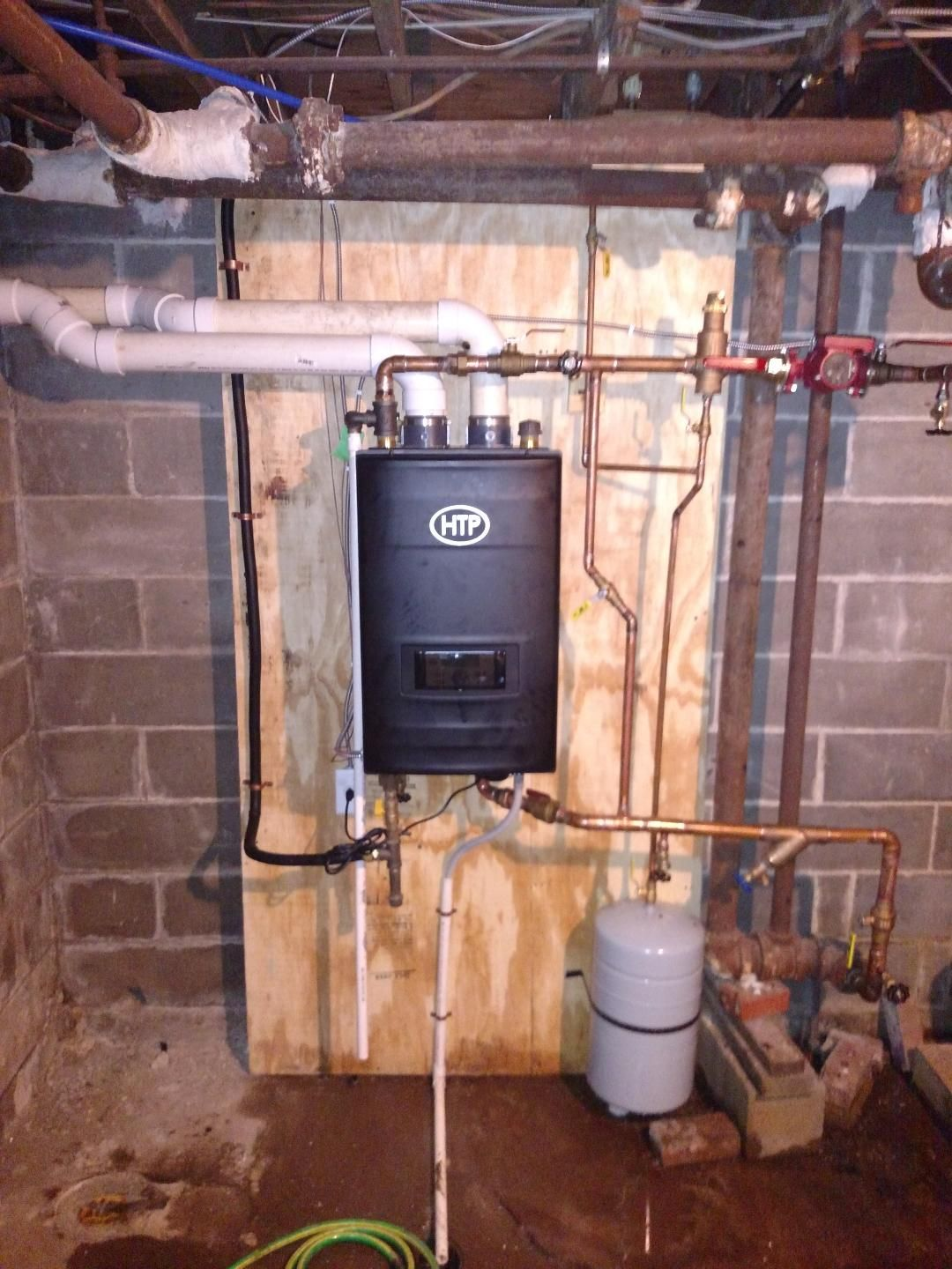 Water Heater Installation: HTP Boiler<br/>Ackley & Iowa Falls, IA